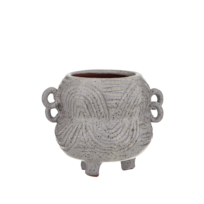 Albi | Marketti Planter Pot - Grey Small | Shut the Front Door