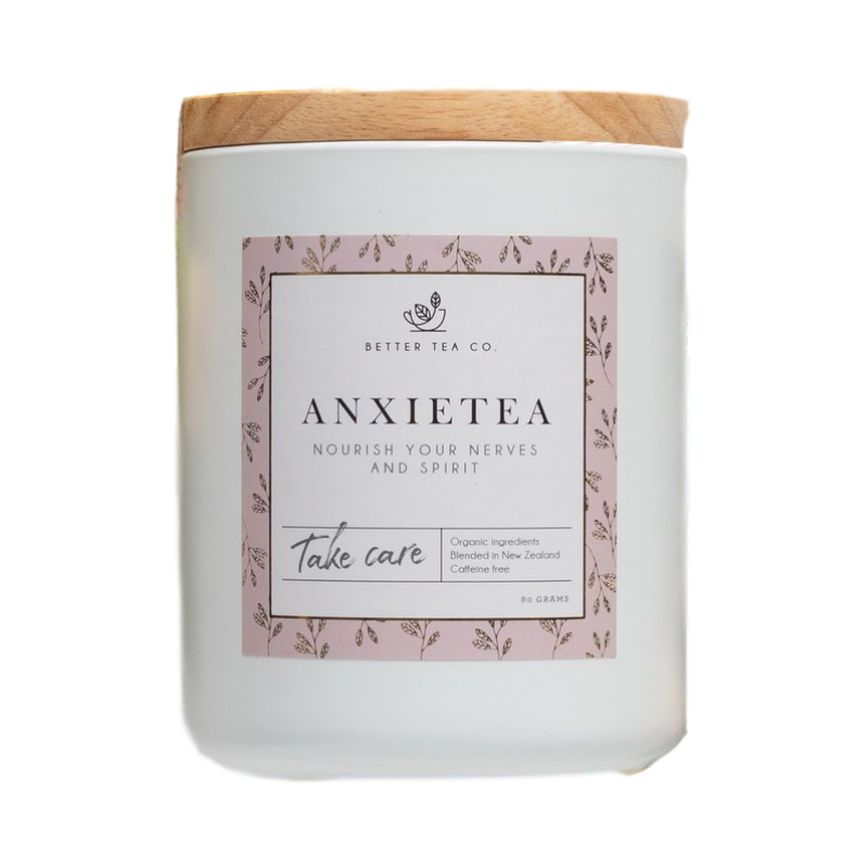 Better Tea Co | Tea Ceramic Jar 80g | Shut the Front Door