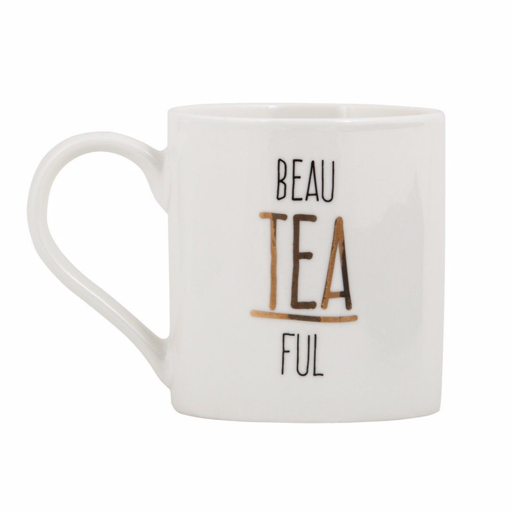 General Eclectic | BeauTEAful Mug | Shut the Front Door
