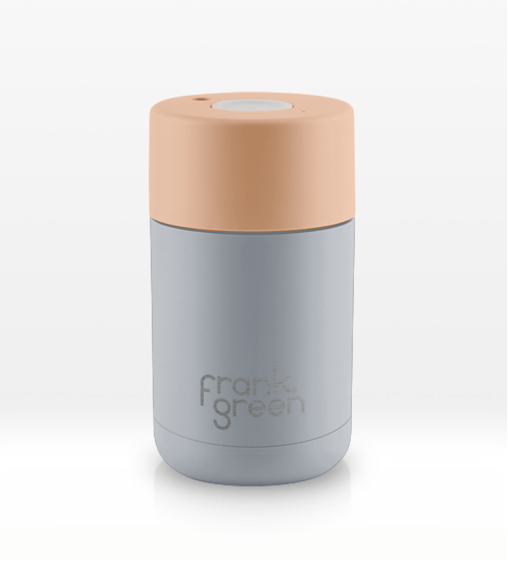 Frank Green | Stainless Steel Smart Cup Mist/Dahlia | Shut the Front Door
