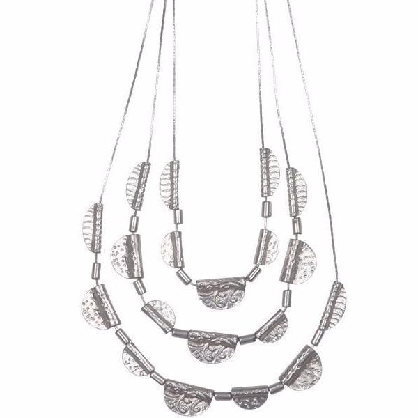 eb & ive | Lagos Necklace Silver | Shut the Front Door