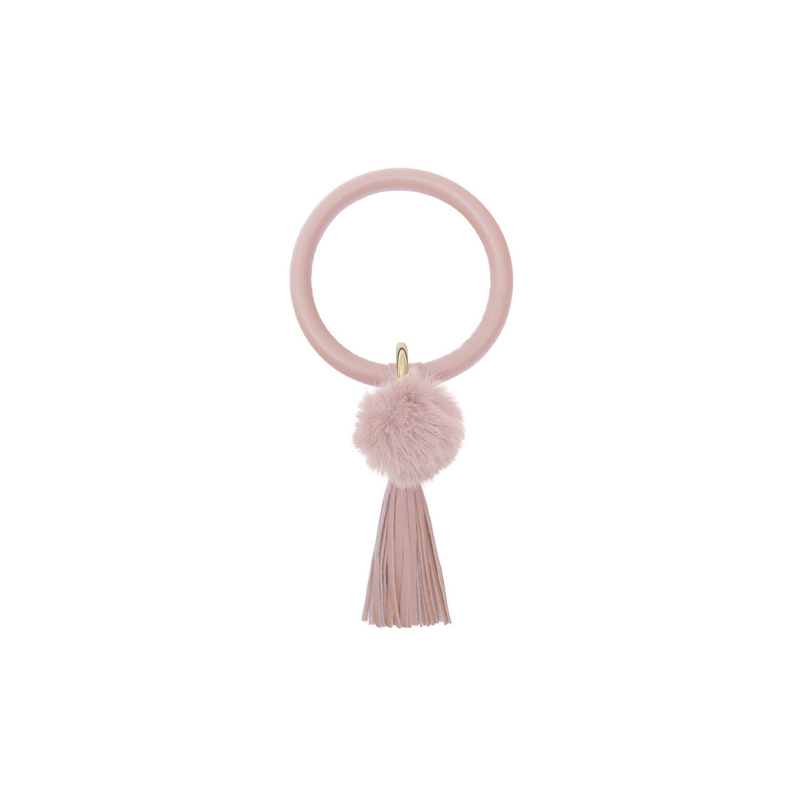 Le Forge | Fabia Keychain - Pink | Shut the Front Door