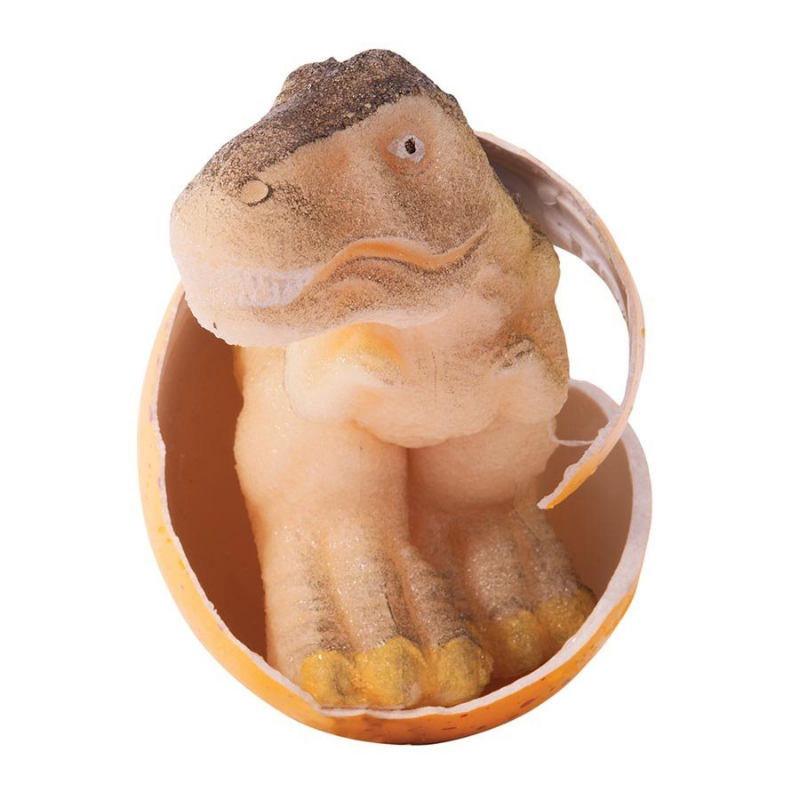 IS Gifts | Hatch It! Dinosaur Large - Yellow | Shut the Front Door
