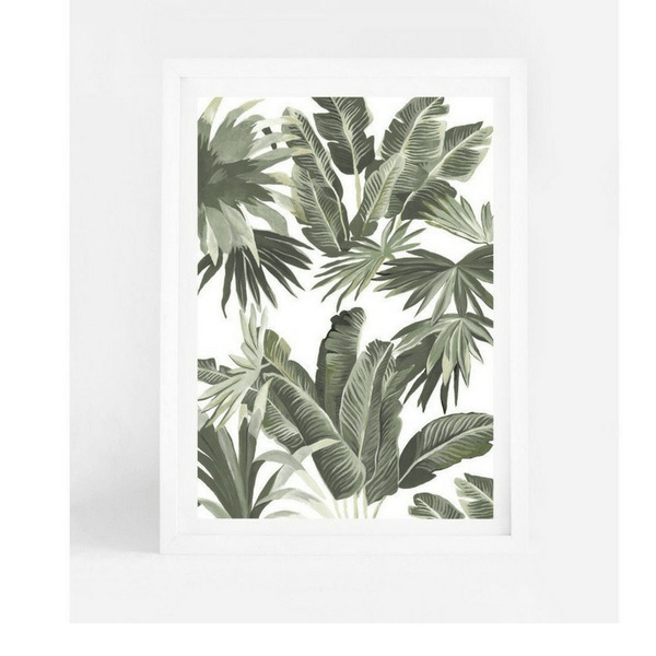 Leden | Leden Banana Palms A3 Print | Shut the Front Door