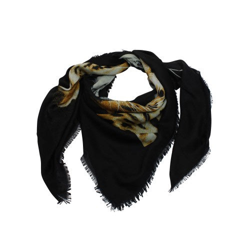 Tiger Tree | Black Wild Cat Scarf | Shut the Front Door