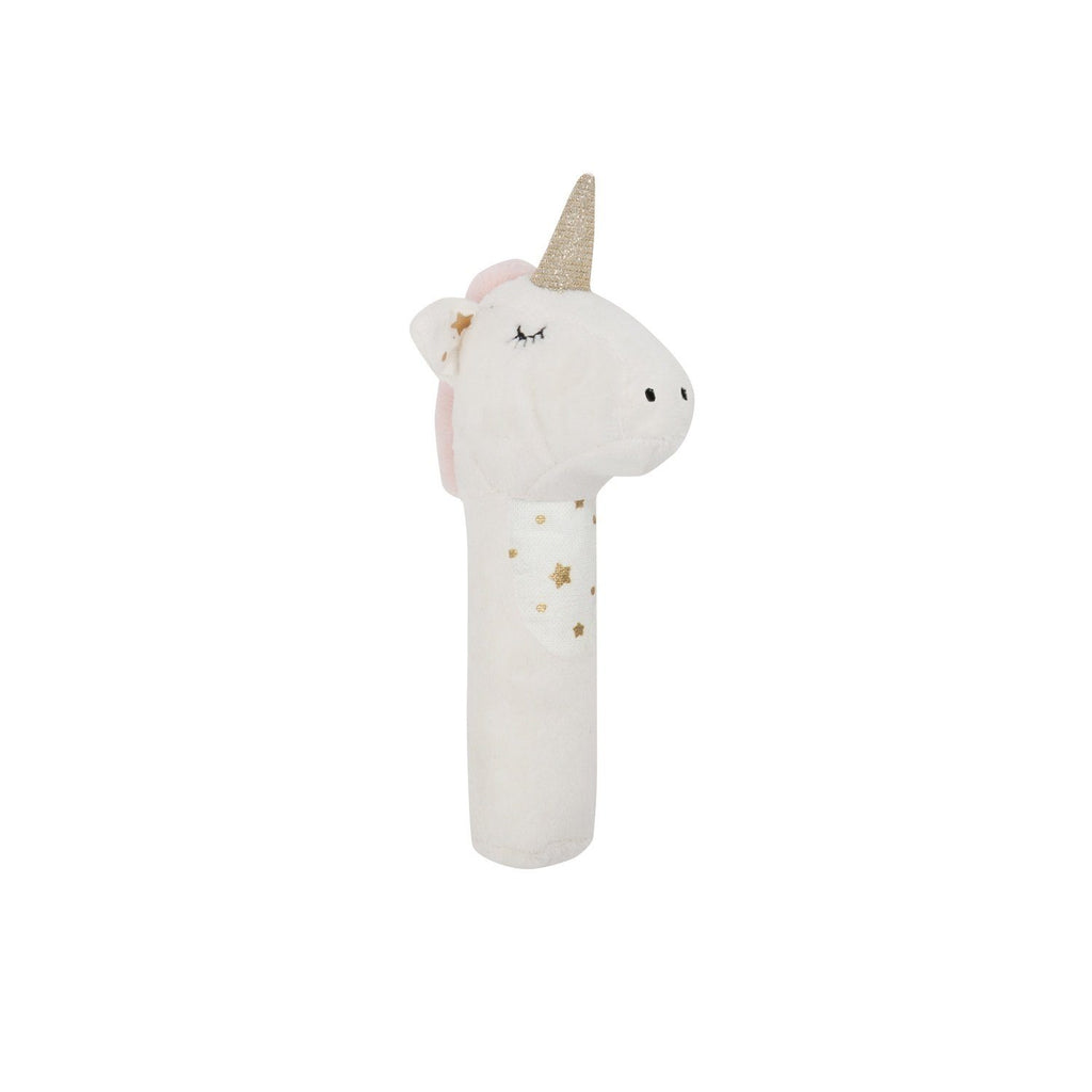 Lily and George | Stardust Unicorn Rattle | Shut the Front Door