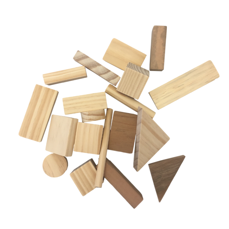 Grove and Willow | Wooden Block Set - 20 pieces | Shut the Front Door