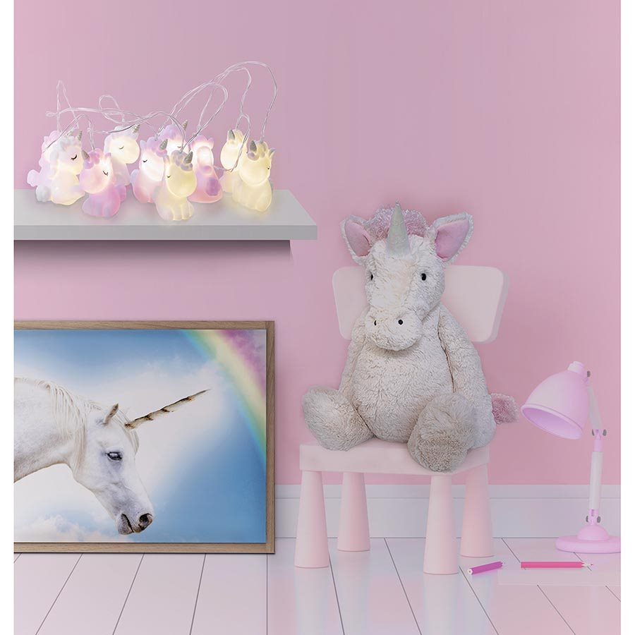 IS Gifts | Illuminate String Lights Unicorn Fantasy | Shut the Front Door