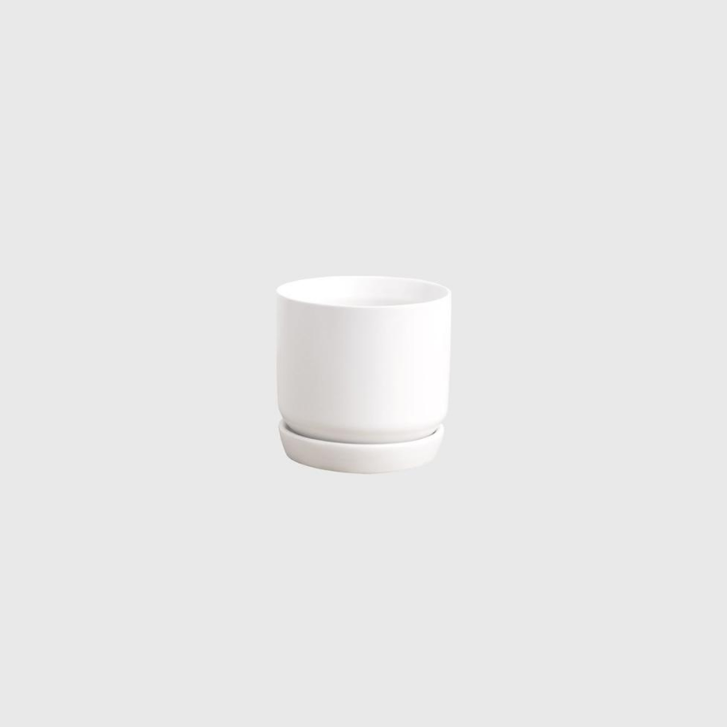 Potted | Oslo Planter - Ice White Mini | Shut the Front Door