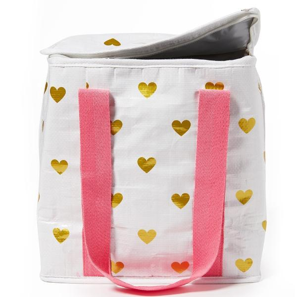Project Ten | Insulated Tote Bag - Hearts | Shut the Front Door