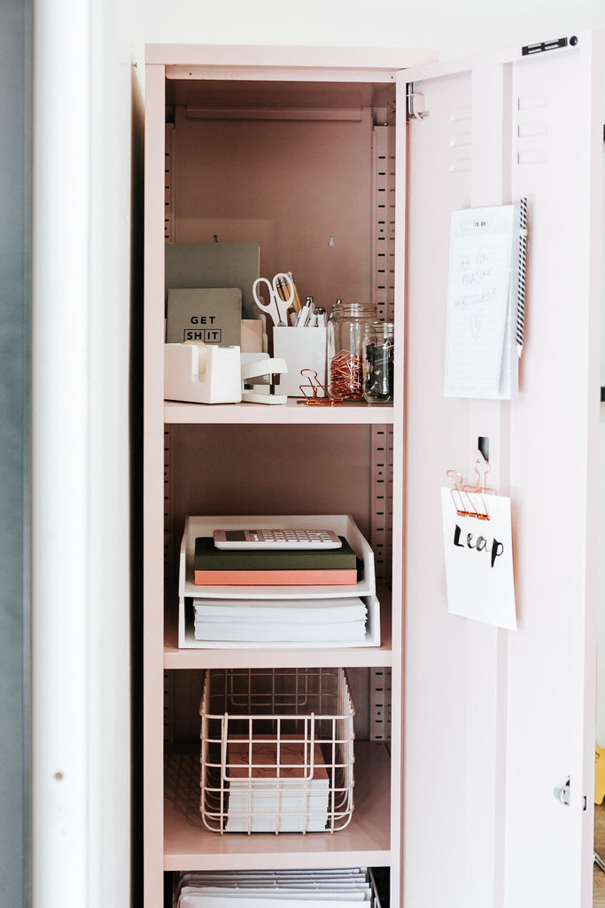 Mustard | Skinny Locker - Blush | Shut the Front Door