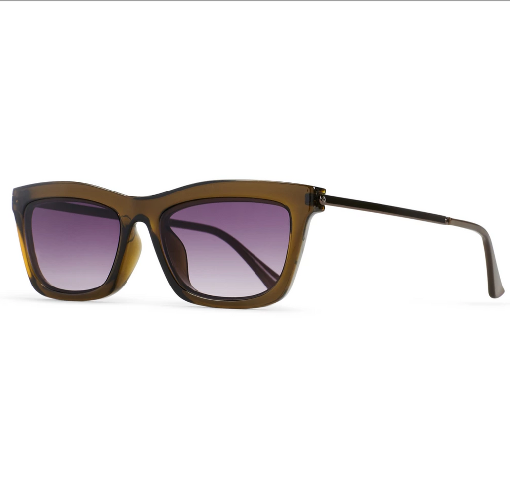 Reality Eyewear | Bowery Sunglasses - Olive | Shut the Front Door