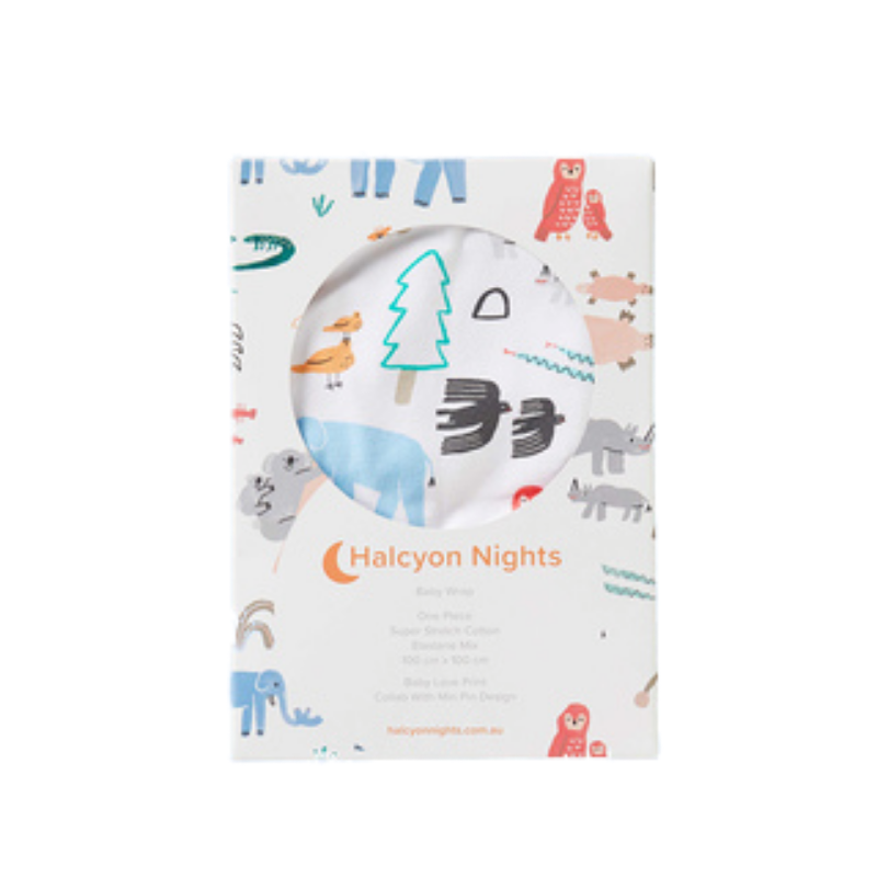 Halcyon Nights | Baby Love - Baby Wrap | Shut the Front Door