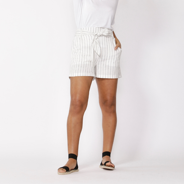 Betty Basics | Tyler Short - Pinstripe | Shut the Front Door