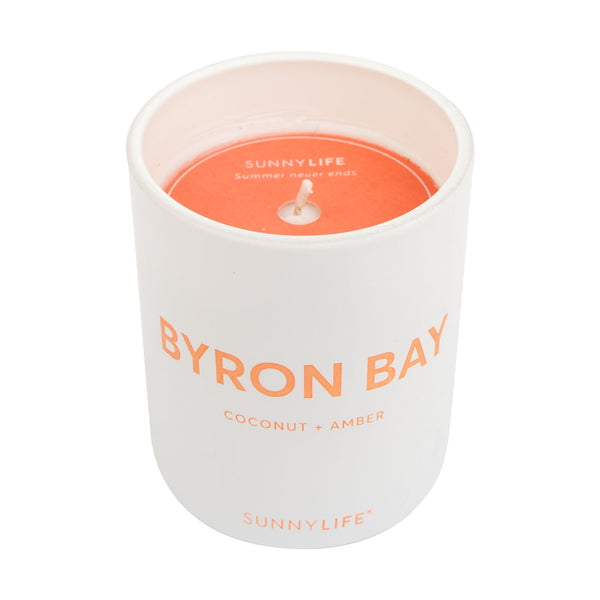 Sunnylife | Coconut Wax Scented Candle - Small - Byron Bay | Shut the Front Door