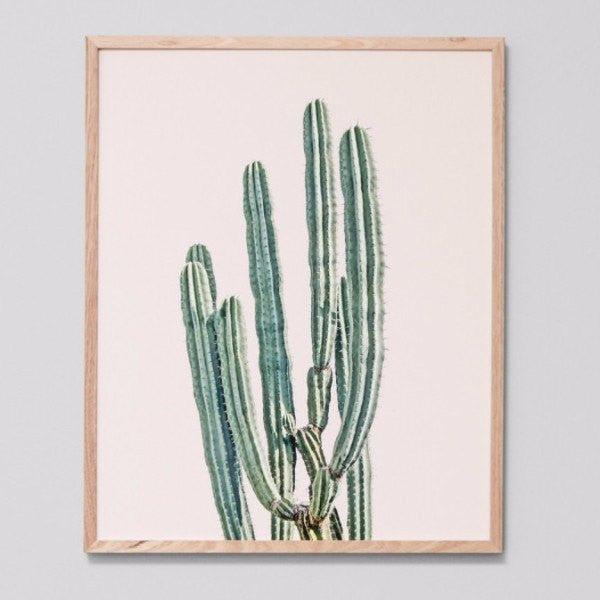 Middle of Nowhere | Framed Print Desert Blush | Shut the Front Door