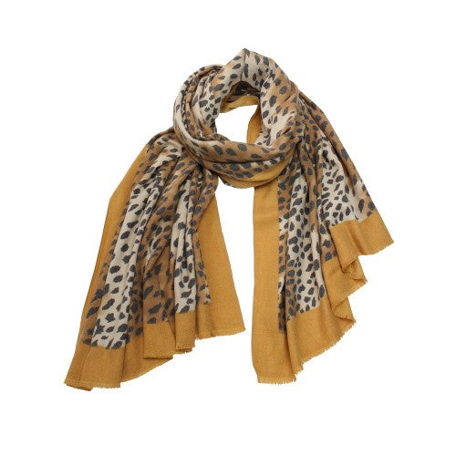 Tiger Tree | Saffron Cheetah Scarf | Shut the Front Door
