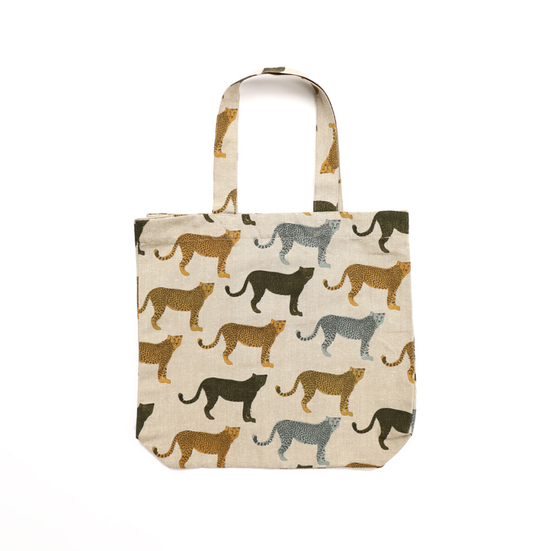 Raine & Humble | Cheetahs Gone Wild Shopping Tote | Shut the Front Door