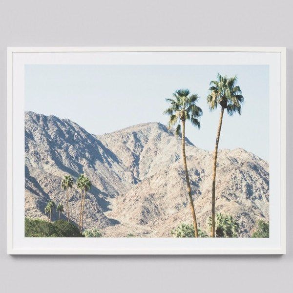 Middle of Nowhere | Framed Print Palm Hills | Shut the Front Door