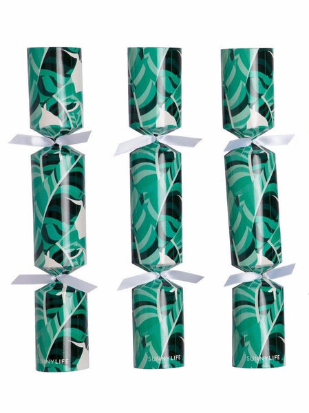 Sunnylife | Christmas Crackers - Banana Palm - Set of 6 | Shut the Front Door