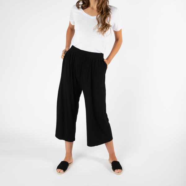 Betty Basics | Luqa Pant - Black | Shut the Front Door