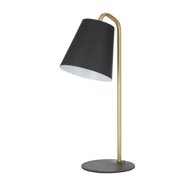 Carson Desk Lamp in Black