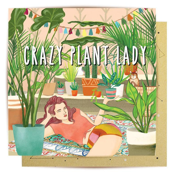 La La Land | Card - Crazy Plant Lady | Shut the Front Door