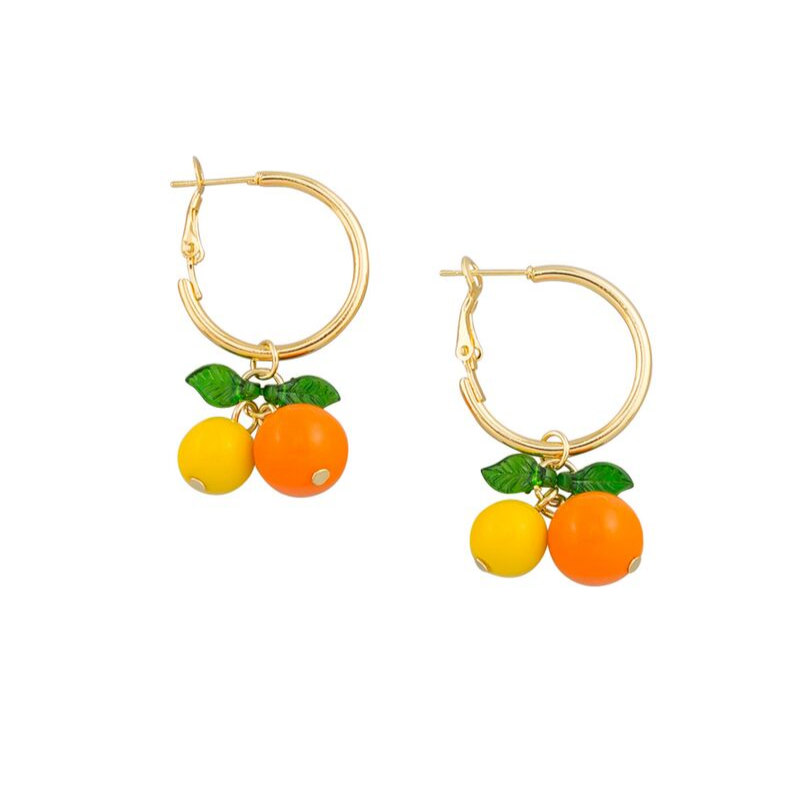 Tiger Tree | Tutti Frutti Earrings - Citrus | Shut the Front Door