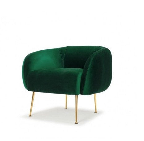 Me & My Trend | Sunday Chair Velvet Green *PREORDER* | Shut the Front Door