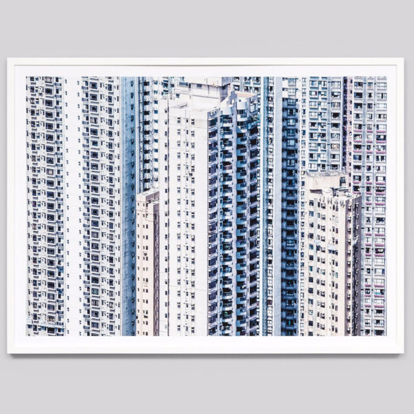 Middle of Nowhere | Framed Print City High Rise | Shut the Front Door