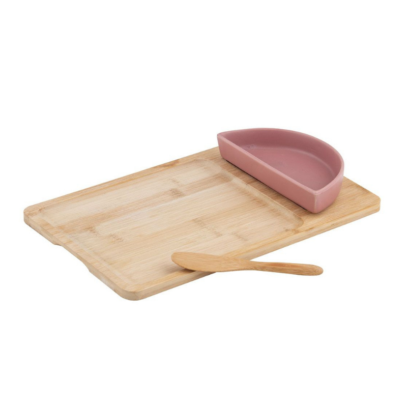 Davis & Waddell | Amora Bowl & Spread Set on Bamboo Board | Shut the Front Door
