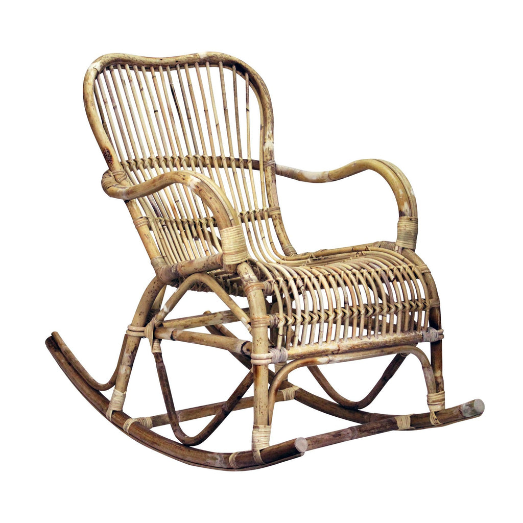 Gentil General Eclectic | Houston Rattan Rocking Chair | Shut The Front Door
