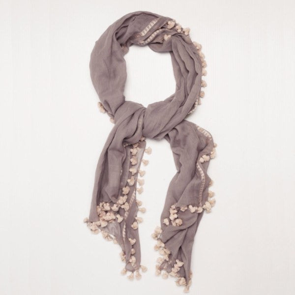 Ruby + Jet | Freya Tassel Scarf | Shut the Front Door
