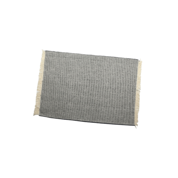 Raine & Humble | Heidi Placemat - Charcoal | Shut the Front Door