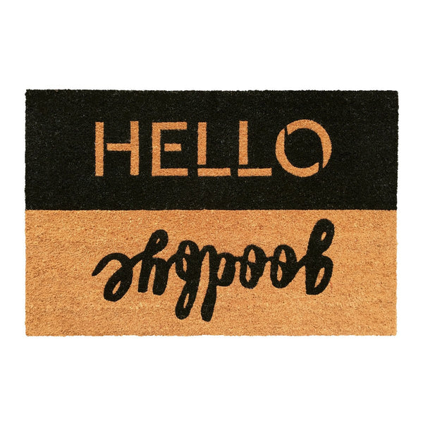 General Eclectic | Doormat Hello Goodbye | Shut the Front Door