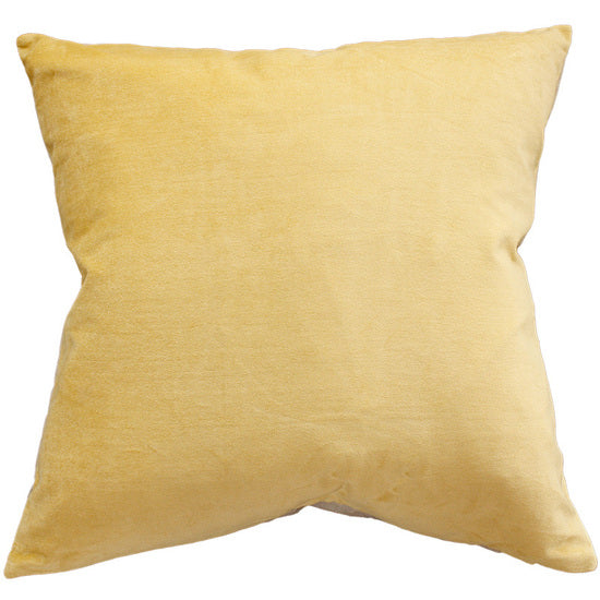 Mulberi | Majestic Velvet Cushion BUTTER 50x50cm | Shut the Front Door