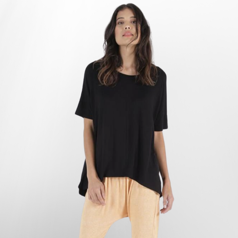 Betty Basics | Cambridge Tee - Black | Shut the Front Door