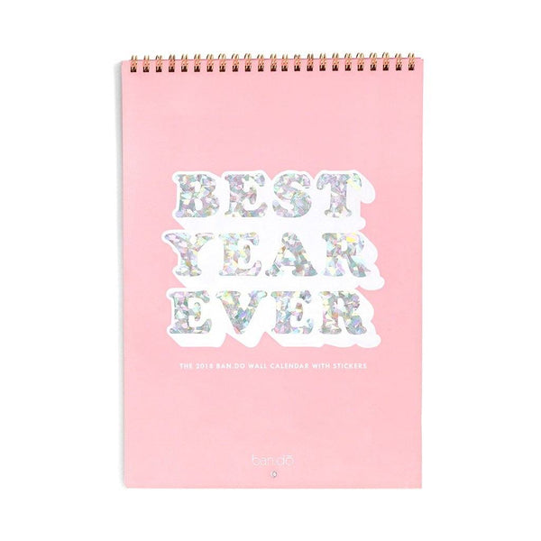 ban.do | 2018 Best Year Ever Calendar *PREORDER* | Shut the Front Door