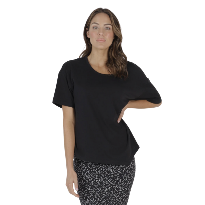 Betty Basics | Sicily Top - Black | Shut the Front Door