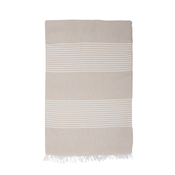Shut the Front Door | Amber Turkish Towel - Sand | Shut the Front Door