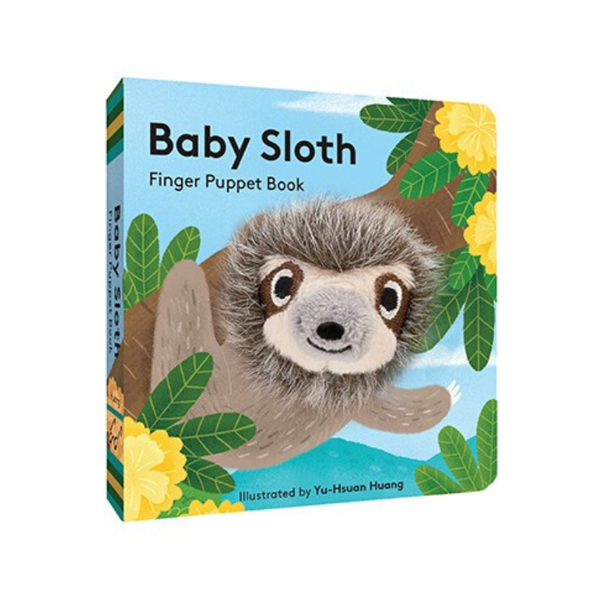 Chronicle Books | Baby Sloth: Finger Puppet Book | Shut the Front Door