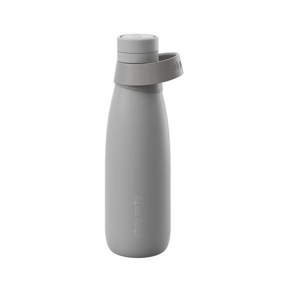 Stay Sixty | Stay Sixty Water Bottle - Stone | Shut the Front Door