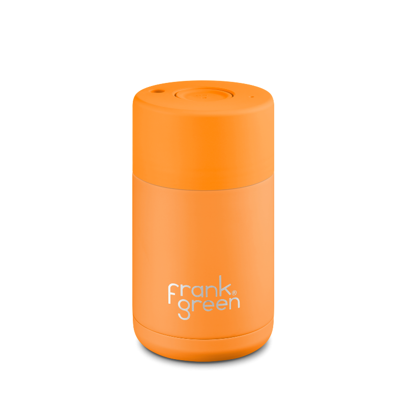 Frank Green | Ceramic Lined Reusable Cup 10oz- Turmeric | Shut the Front Door