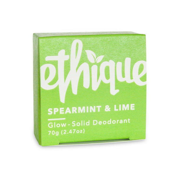 Ethique | Glow Deodorant - Spearmint & Lime | Shut the Front Door