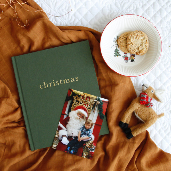 Write to Me Stationery | Family Christmas Record Book - Forest | Shut the Front Door