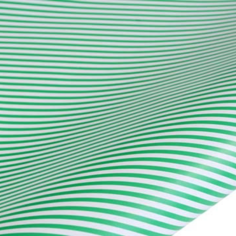 hiPP | Rollwrap - Humbug Green Stripe 5m | Shut the Front Door