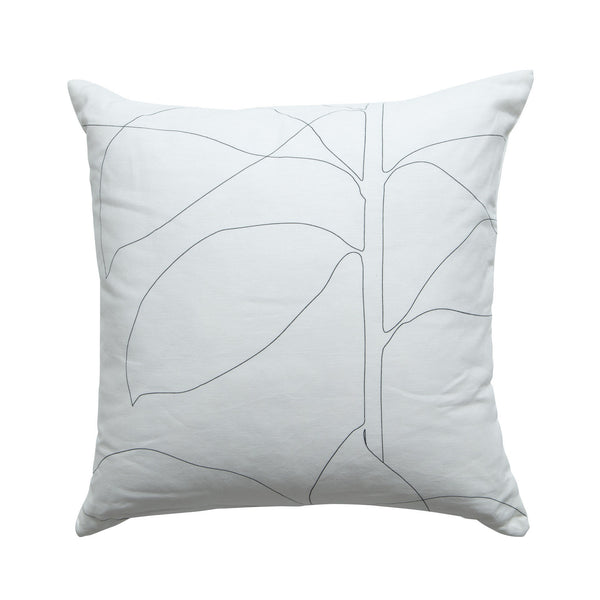 Milk & Sugar | Cushion Floral 60cm WHITE | Shut the Front Door