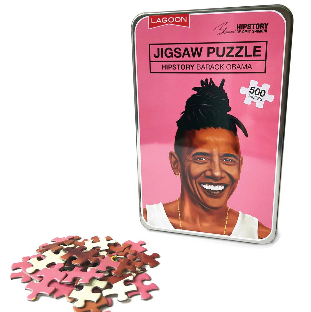 Hipstory | Hipstory Jigsaw Barack Obama | Shut the Front Door