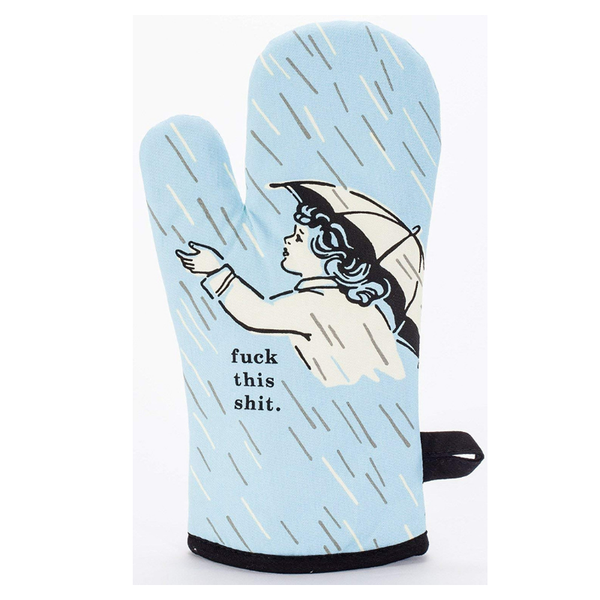 Blue Q | Oven Mitt Fuck This Shit | Shut the Front Door