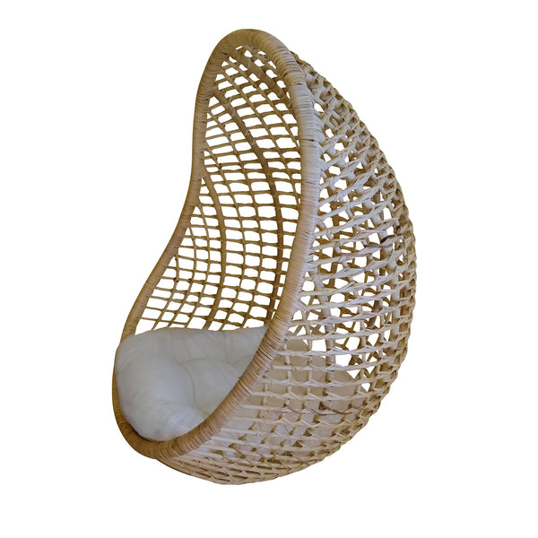 General Eclectic | Billie Hanging Rattan Chair | Shut the Front Door